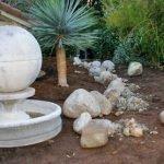Placing boulders into landscape
