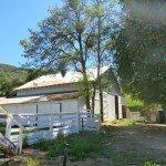 Hunt Ranch's outbuildings