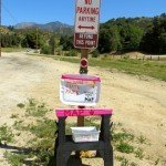 Wildwood Canyon kiosk