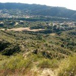 A view of Wildwood Canyon and subdivision