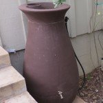 We put a hose on our 65- gal Cascata rainbarrel to water trees and our landscaping